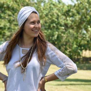 Yoga top, yoga tunic, traditional tunic, long sleeve tunic