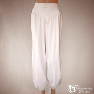 Classical harem pants in cotton jersey