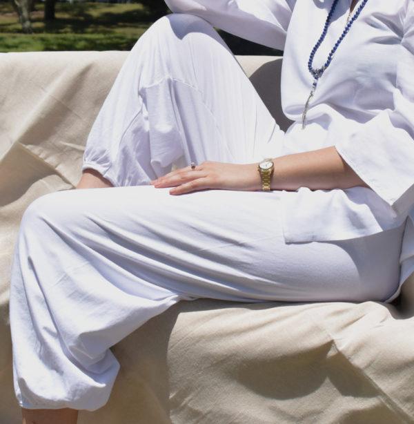 Harem yoga pants, Kundalini harem pants, cotton harem pants