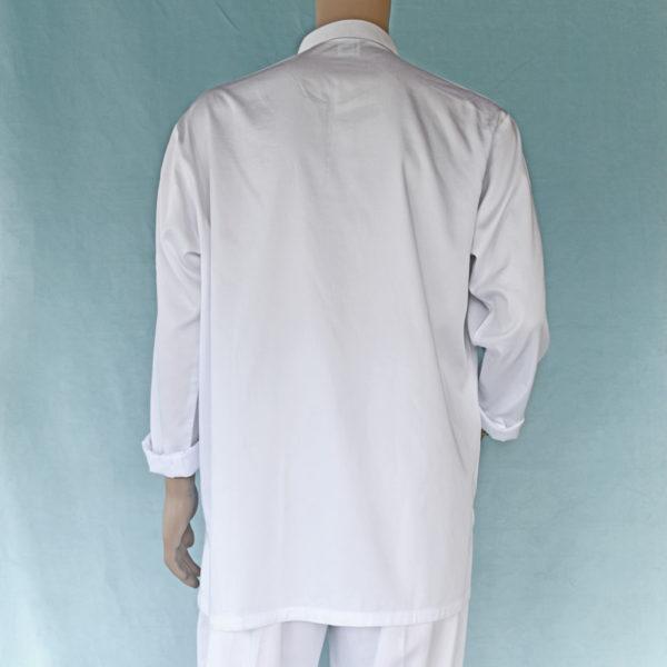 Mens Long Sleeve Shirt Cotton Sateen