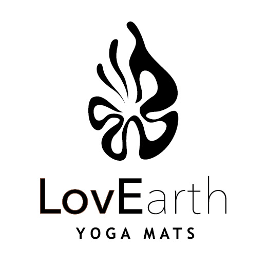 LovEarth yoga mat logo