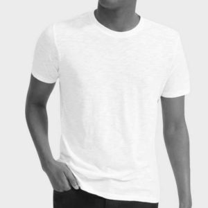 Cotton T-shirt short sleeve, 100% cotton classic crew neck T-shirt