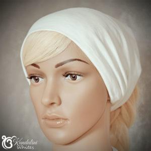 Cotton headband wide