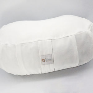 Meditation cushion, meditation pillow, travel cushion, crescent shaped