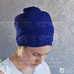 turban full width blue